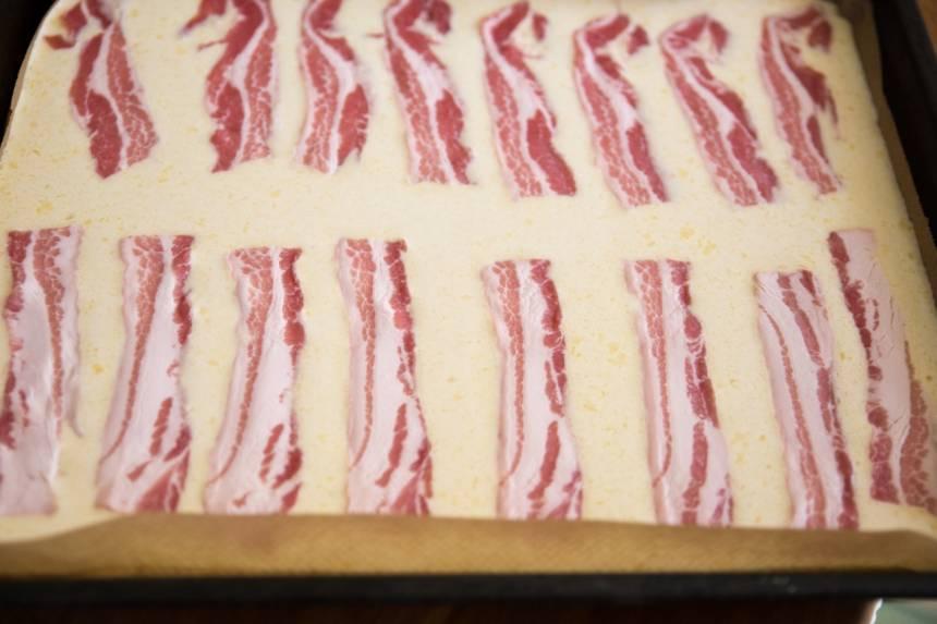 ugnspannkaka med bacon