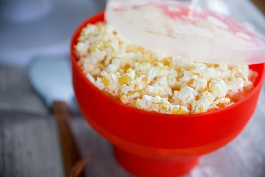 popcorn maker lékué, popcorntårta