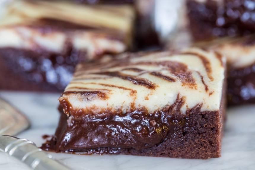 saftig brownie