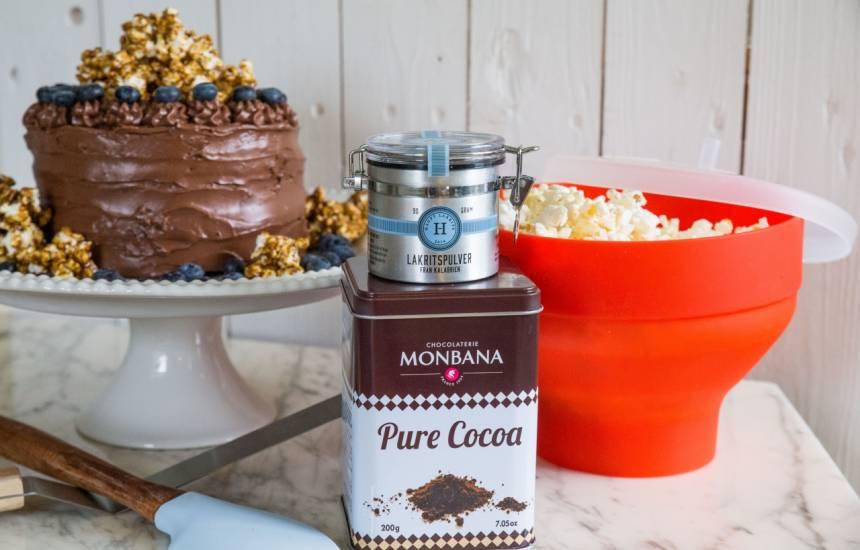 popcorntårta kökets favoriter