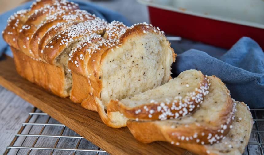 pull apart bread recept