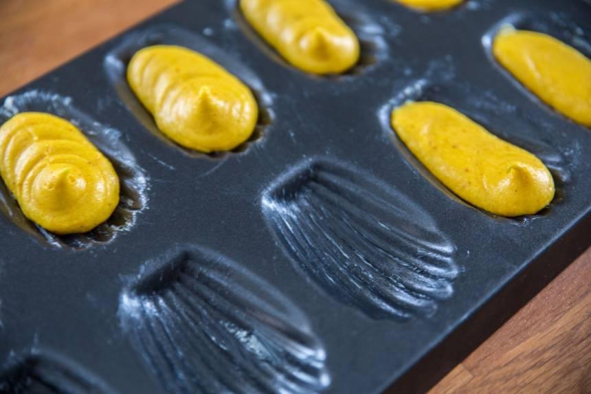 Läckra Madeleinekakor med smak av saffran