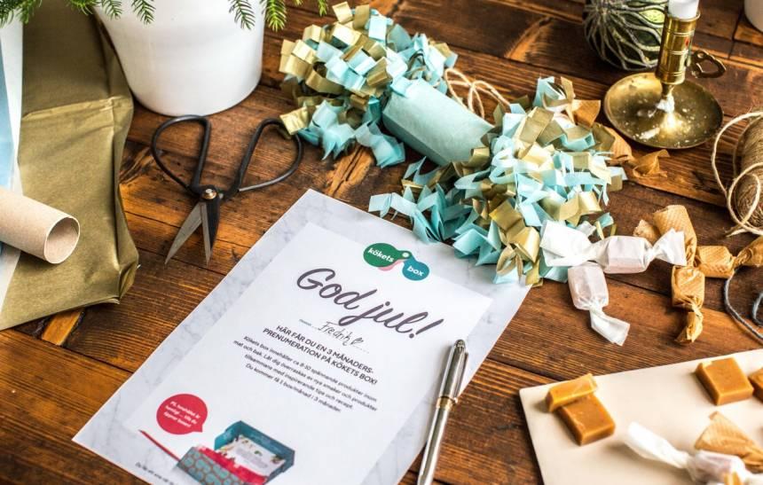 kökets box är den perfekta julklappen