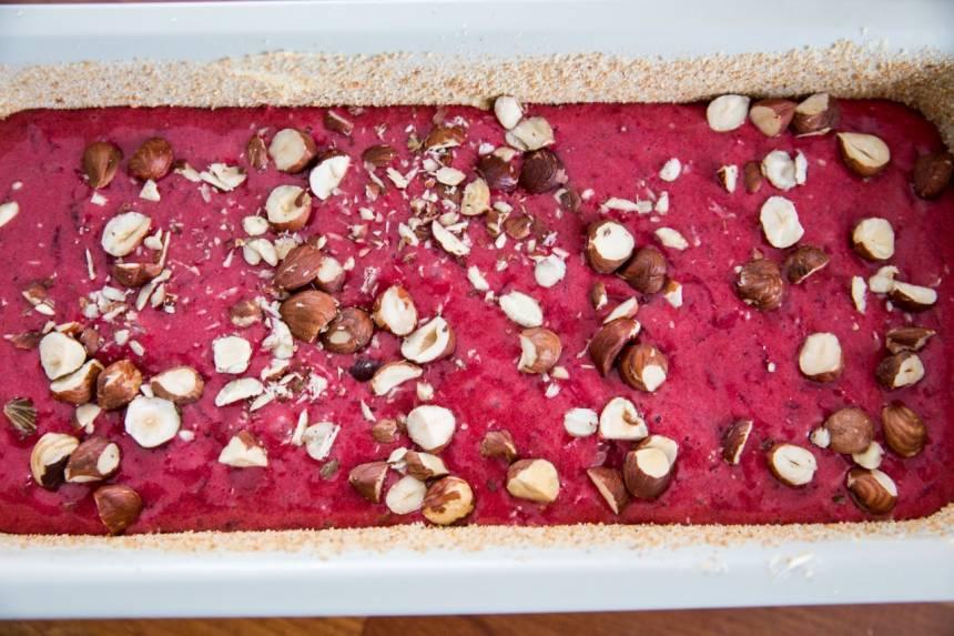 läcker kaka med rödbetor- Recept på rödbetskaka