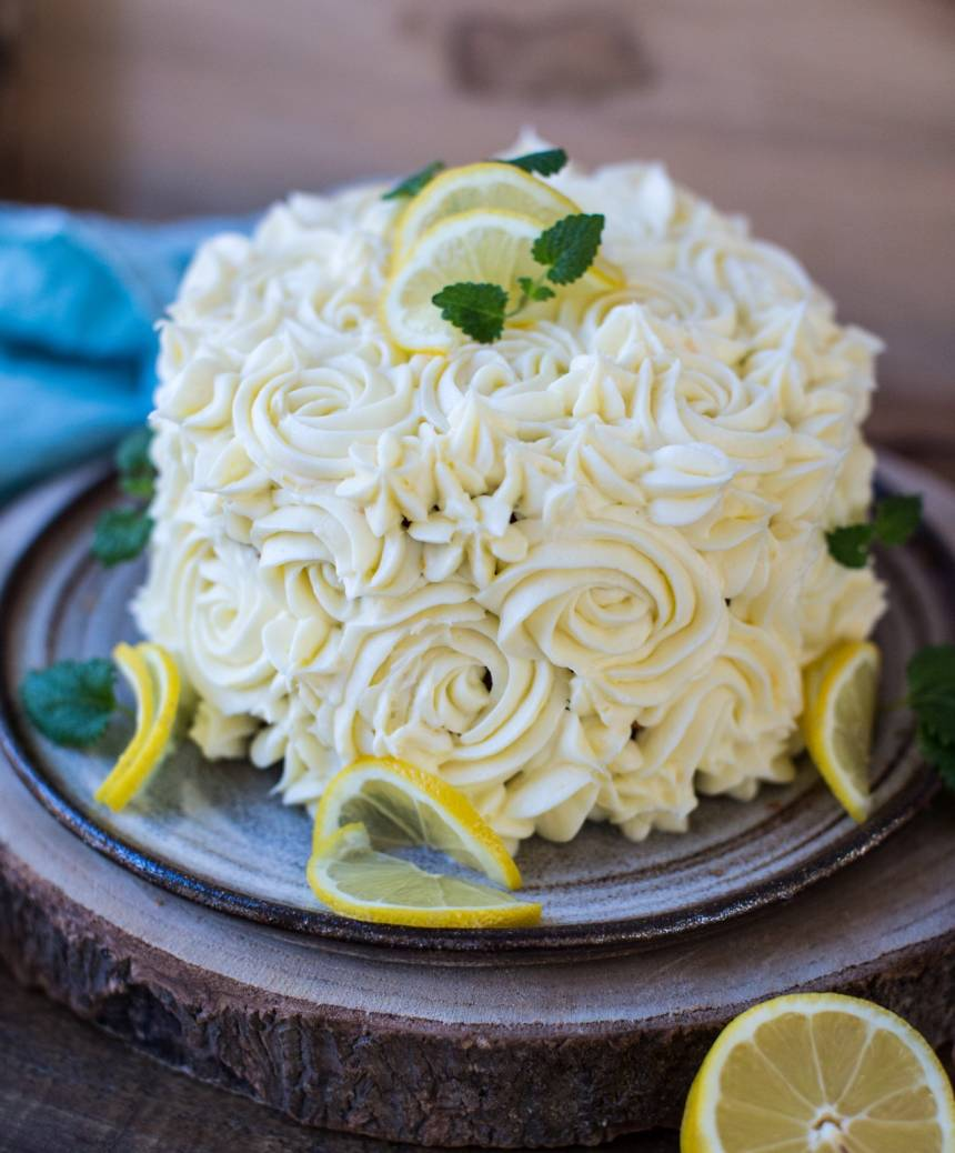 läcker morotskaka som en tårta!