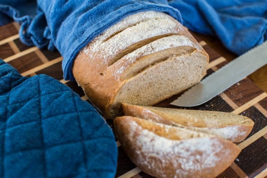 bröd på fullkornsmjöl