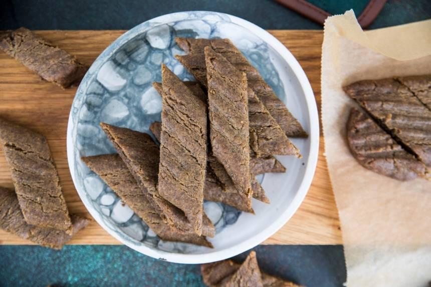 Kolasnittar med smak av lakrits