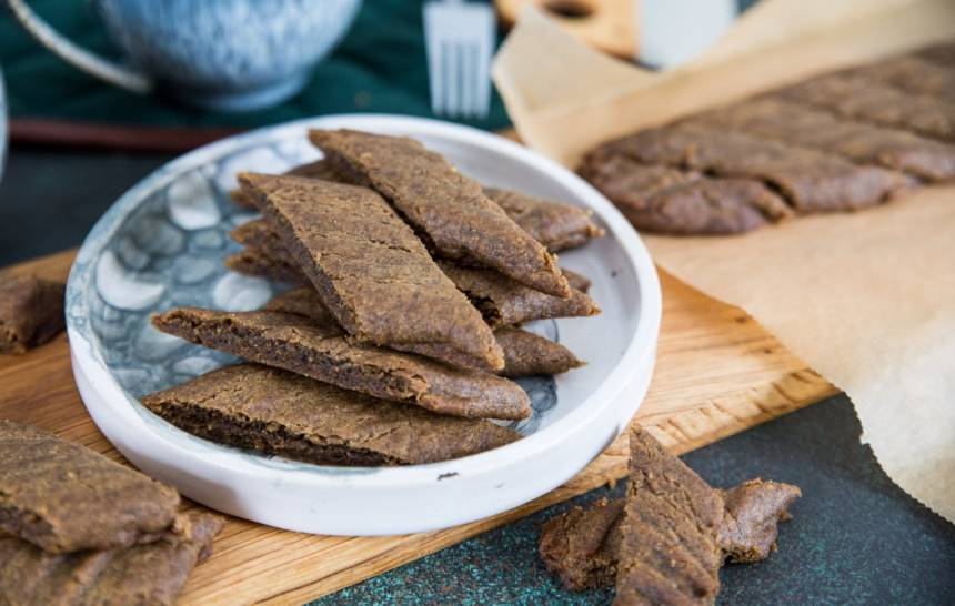 Recept på kolasnittar med lakrits