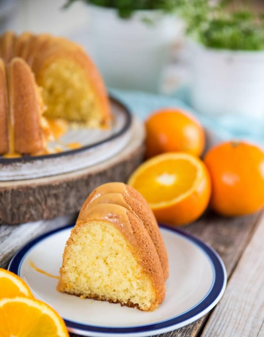 mjuka kaka med apelsinsmak