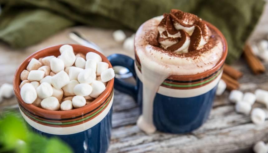 Smakrik och godaste varma chokladen man kan få!