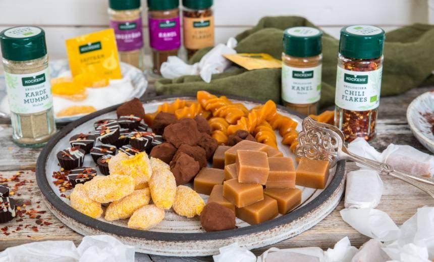 Recept på kola och chokladtryffel med många olika smaker!