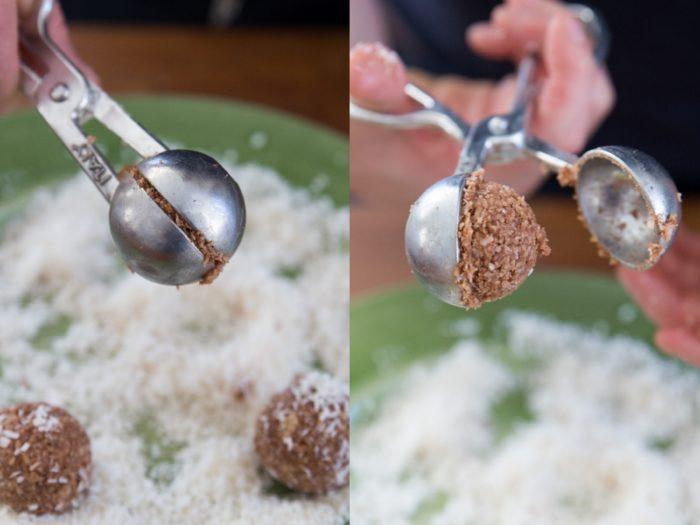 perfekt runda kokosbollar