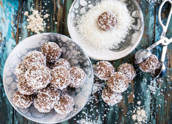 recept på kokosbollar