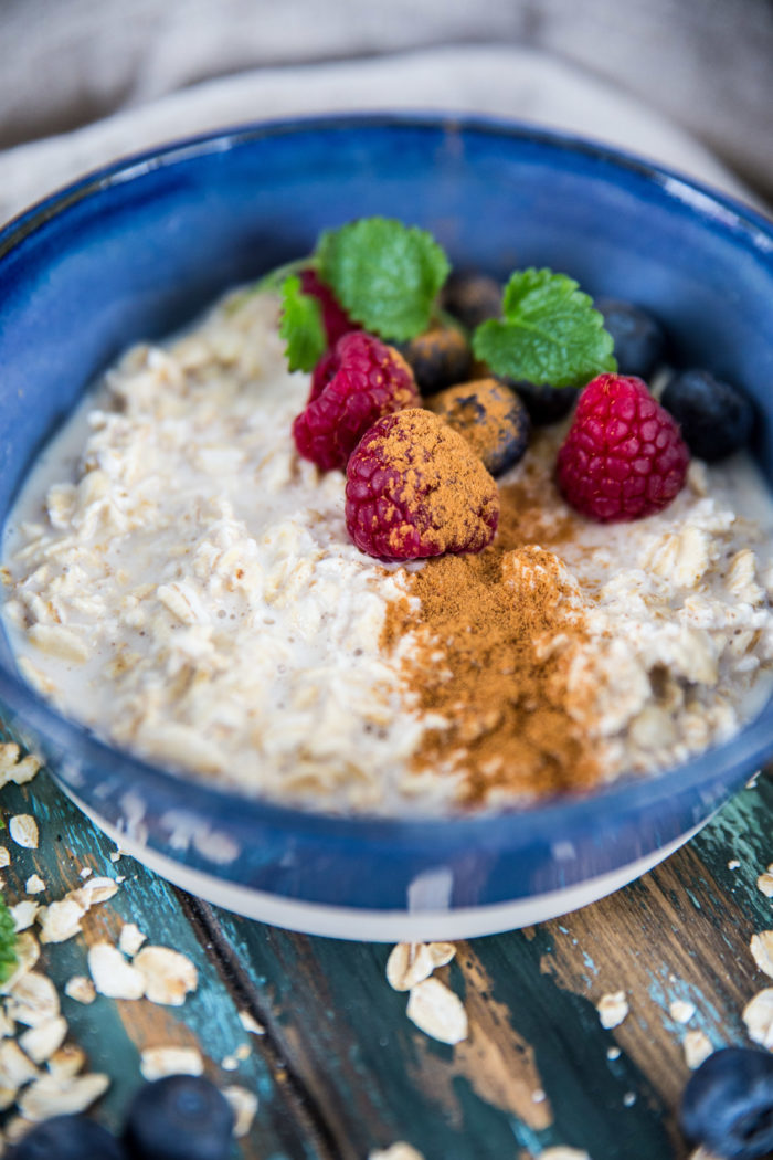 Recept på overnight oats