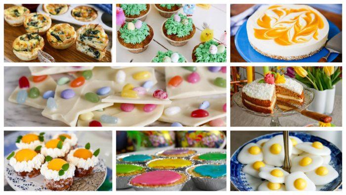 recept på påskgodis och vad du kan baka till i påsk