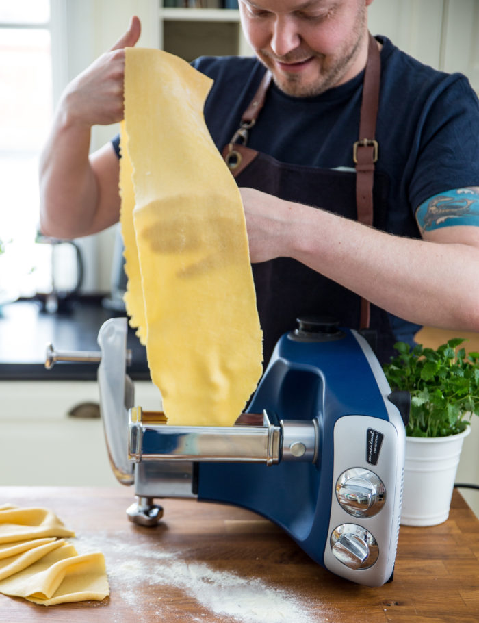 Pastarecept, hemgjord pasta