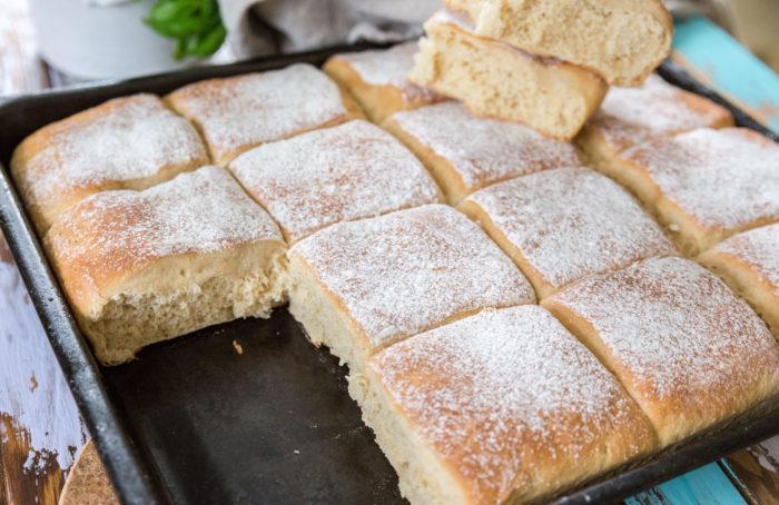 bröd i långpanna med havregryn