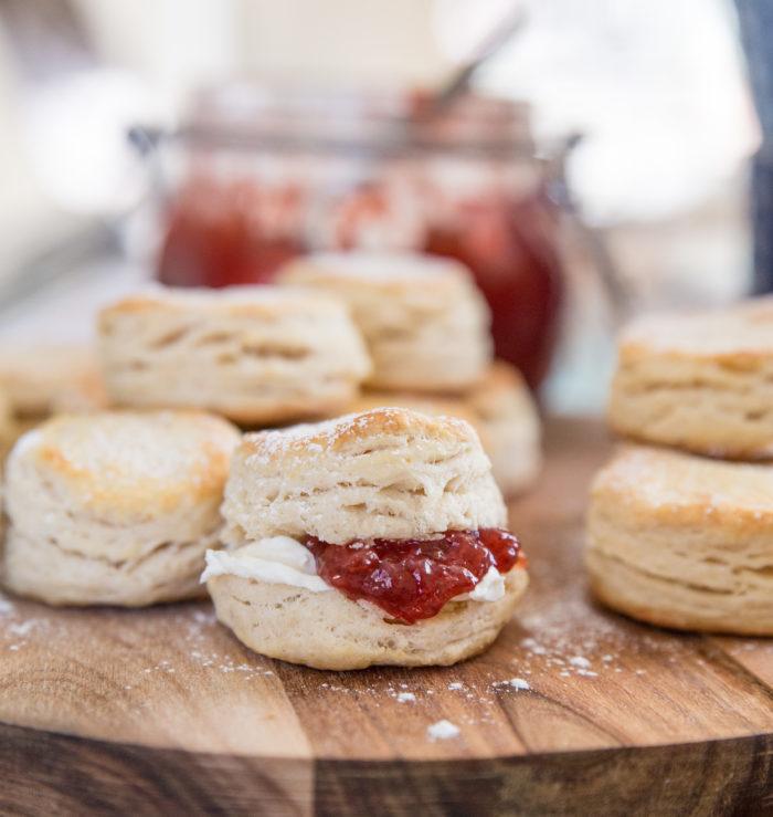 recept på engelska scones