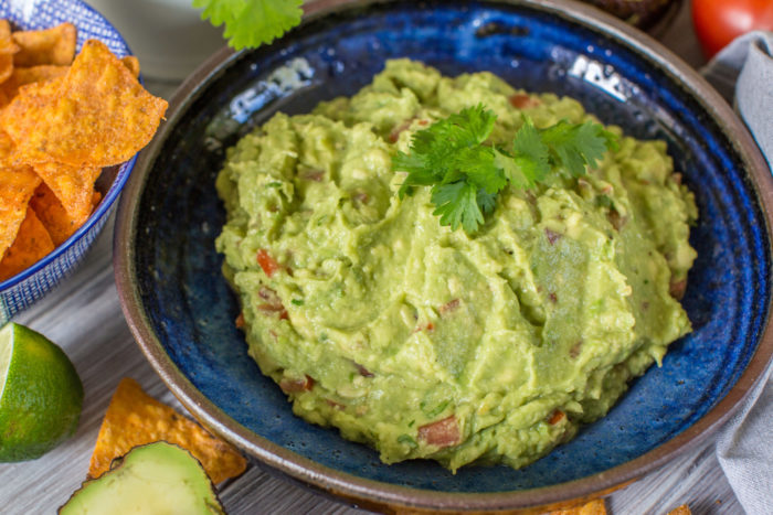 Bästa guacamolen