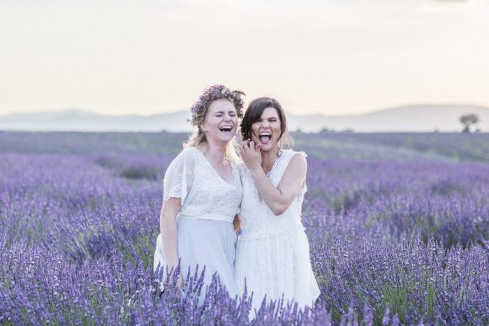 Lavendelfälten