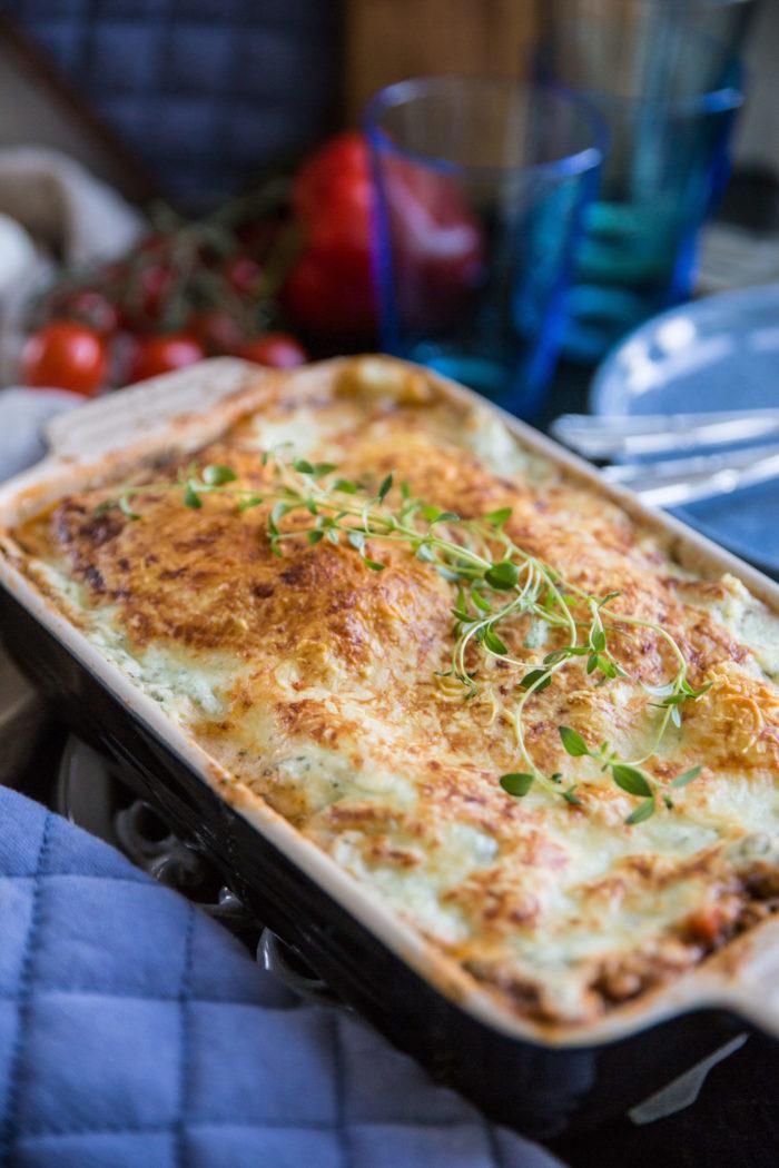 lasagne keso