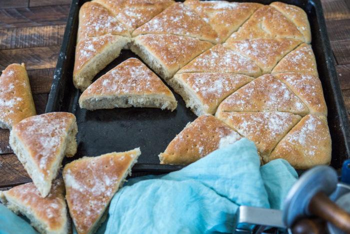 saftigt bröd i långpanna
