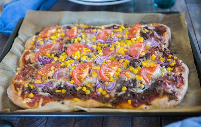 pizza långpanna recept