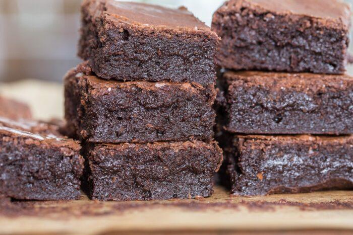 choklad fudge brownie
